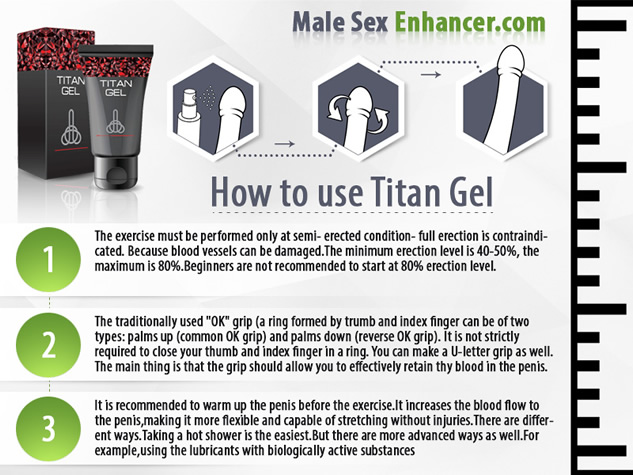 how to use a titan gel