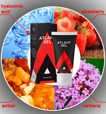 The Main Active Ingredients of The Atlant Gel