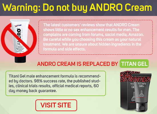 do not buy Andro Cream